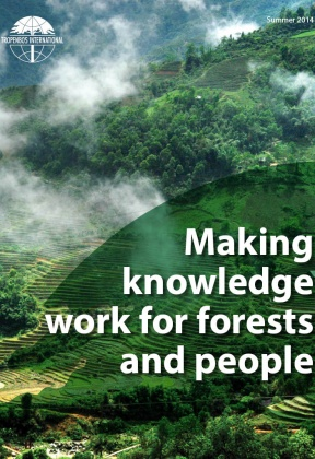 Making knowledge work for forests and people - Annual Report 2013