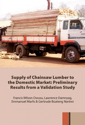 Supply of chainsaw lumber to the domestic market: Preliminary results from a validation study
