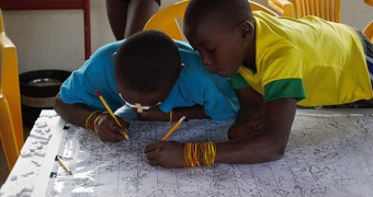 Upper Suriname River communities develop three-dimensional participatory map