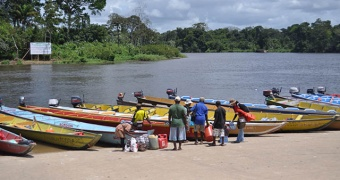 Participatory three dimensional mapping in the Upper Suriname River area