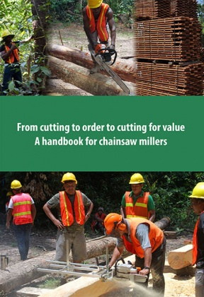 From cutting to order to cutting for value. A handbook for chainsaw millers