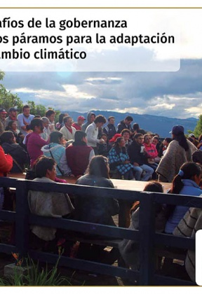 Governance challenges in the páramos for adaptation to climate change