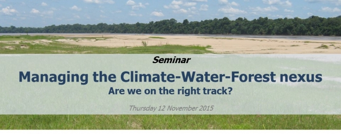 Managing the climate-water-forest nexus for sustainable development – Are we on the right track?