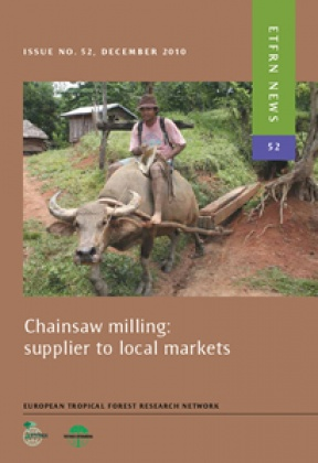 Chainsaw milling: supplier to local markets