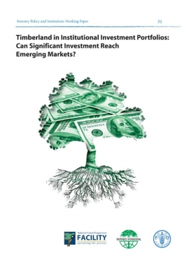 Timberland in Institutional Investment Portfolios: Can Significant Investment Reach Emerging Markets?